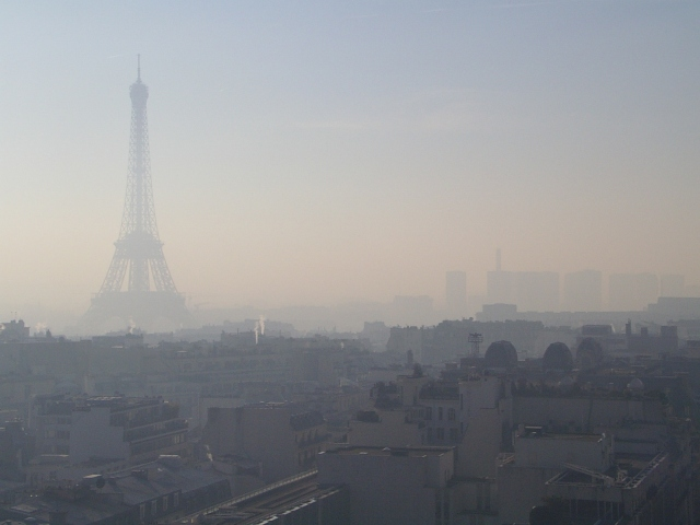 View of Eiffel from the Triumphal Arc
