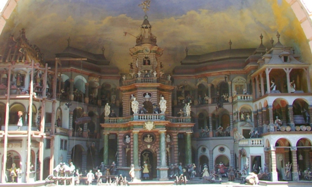 Real engineering, Hellbrunn Palace, Salzburg
