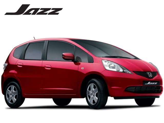 Honda Jazz - red