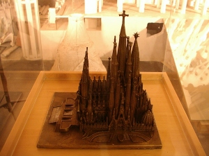 Model Of the To-Be-Completed Church