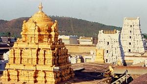 Thirupathi Tomb in Gold - Thanga Gopuram!