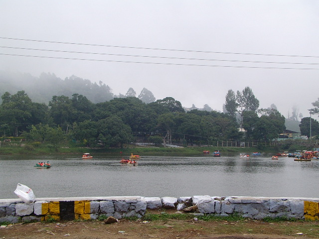 Main Lake in Yercaud..