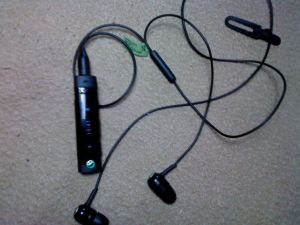 Sony Ericsson MW600 stereo bluetooth headset